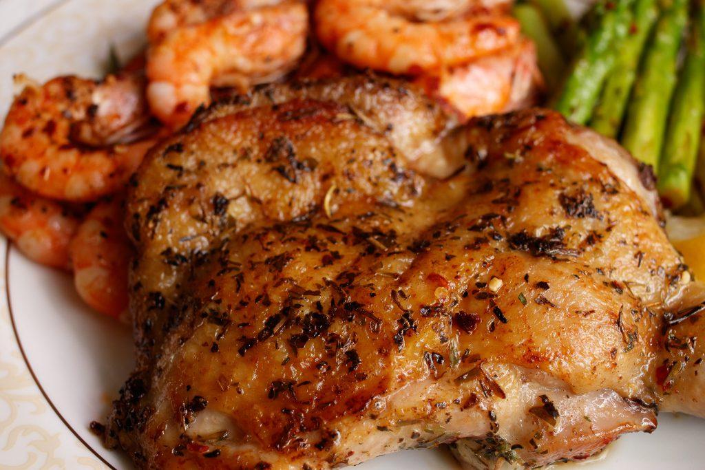 南法風味雞腿排