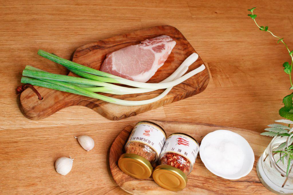 葱滿風味豬里肌 Spring Onion Pork Tenderloin Steak