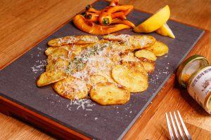 咖哩風味馬鈴薯片 Pan Fried Potato with Curry Salt