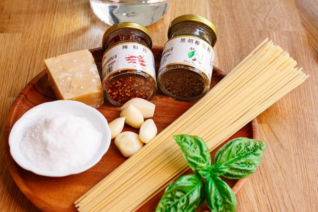 蒜香辣味義大利麵 Spaghetti with Garlic, Chilli