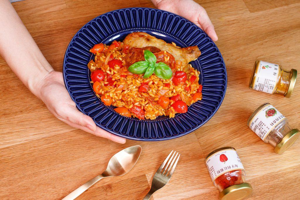 西班牙臘腸雞腿燉飯 Paella Chicken Sausage