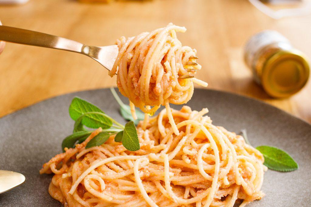 黃芥末明太子義大利麵 Spaghetti with Mentaiko mustard sauce