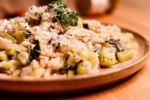 法式櫛瓜燉飯 Creamy Zucchini Risotto