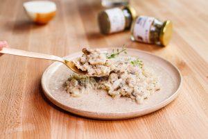 冰淇淋蘑菇燉飯 Ice Cream Mushroom Risotto
